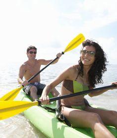 Date Night Idea: kayaking for fun.