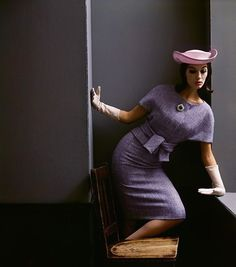 Simone, BalthusHarper's Bazaar, circa 1960'sPhotographer: Melvin SokolskyModel: Simone d'Aillencourt