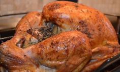 Roasted Turkey Recipe - Simple and Delicious (naturally gluten-free)
