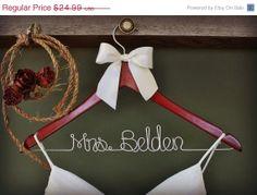 bridal gifts, bridesmaid gifts, bridal shower gifts, dress hanger, bridal party gifts