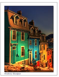 Jellybean Row in Newfoundland Labrador