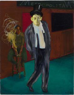 Nicole Eisenman  The Fag End II  2009  Oil on canvas  18 x 14.5 inches