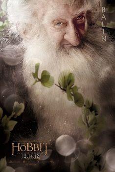 The Hobbit: An Unexpected Journey. big fan of Ken Scott. My favourite dwarf Balin!! #hobbit