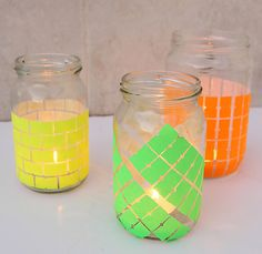 neontag candle jars