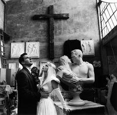 Jeff Koons & Cicciolina by Helmut Newton