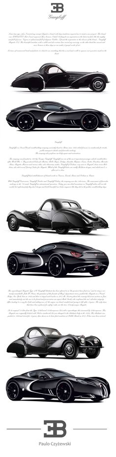 BUGATTI   GANGLOFF   CONCEPT CAR , INVISIUM by Paweł Czyżewski, via Behance ride, bugatti gangloff, wheel, gangloff concept, transport, auto, dream car, concept cars, design