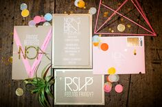 Bat Mitzvah invitation by Bash Please | Mr.  Haack | 100 Layer Cakelet