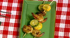 The Chew | Recipe  | Daphne Oz's Shrimp And Vegetable Skewers