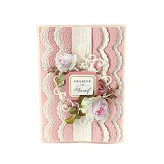 Anna Griffin Cuttlebug Embossing Folders/Dies - Lace AS
