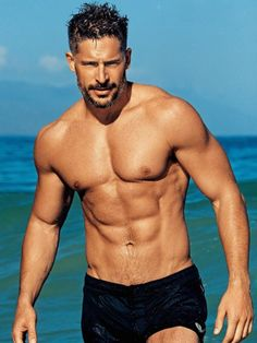 'Magic Mike' actor Joe Manganiello shows off his abs for People magazine's Hottest Bachelors issue.