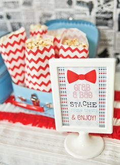 little man birthday ideas | Little Man Mustache Bash {First Birthday} // Hostess with the Mostess ...