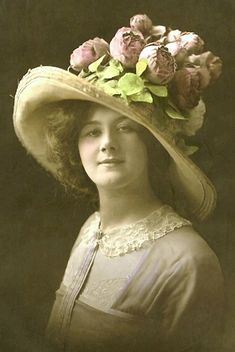 Easter bonnet beauty...vintage charm.