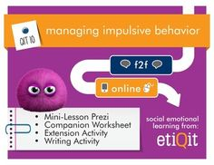 Managing Impulsive Behavior: Decompressing & Recovering #tpt
