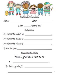 Mrs. Kincaid's First Grade: Back to School