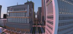 Minecraft Mega-City Took 2 Years And 4.5 Million Blocks To Build | The Creators Project