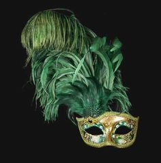 Colombina Can Can Gold Green