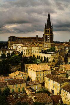 Medieval village, Saint-Emilion, France