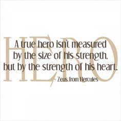 a true hero! great quote :)