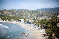 View of Sayulita, Mexico