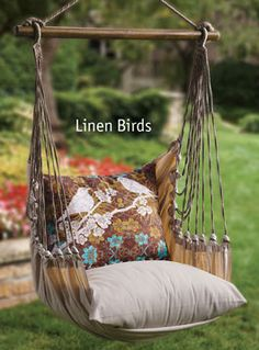 Bluebird Garden Swing Chair | Acacia Catalog