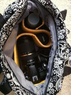 Cargo purse as a CAMERA BAG!
