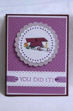 Handmade Greeting Card  Graduation by karenirene on Etsy.