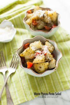 Warm Potato Pesto Salad