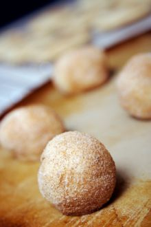 Cinnamon nut cookies - yum! #LowGI