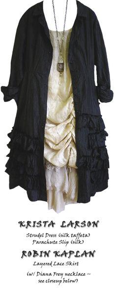 Dress: Krista Larson