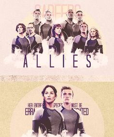 Careers, Allies & District 12 Victors; Catching Fire. #TheHungerGamesTrilogy