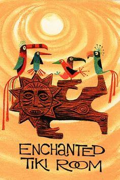 Enchanted Tiki Room - Disneyland 1960s
