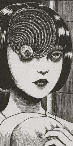 Junji Ito's Uzumaki. What nightmares are made of.