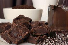 Three Chocolate Fudge Recipe - Easy Fudge Recipe