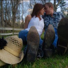 Country Engagement-Blue Eyed Girl's Photography