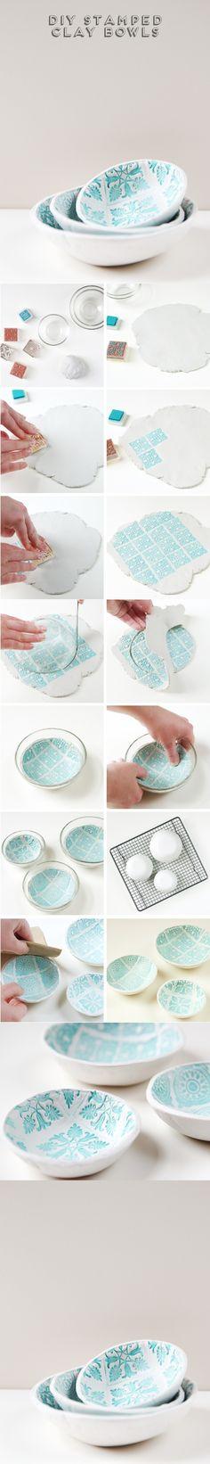 Fabrica tus propios bowls de arcilla - Muy Ingenioso