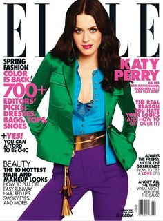 ELLE MAGAZINE Katy Perry in Fantastic Voyage by Carter Smith. Joe Zee, March 2011.