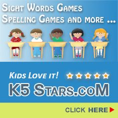K-5 Stars: With over 300 games to chose from you can zero in on your children's weak areas or let them practice and get ahead while they are are having fun!