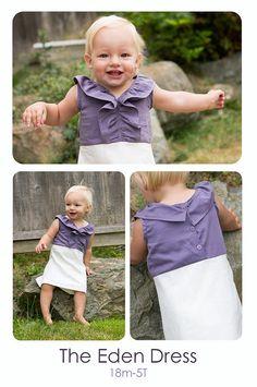 dress PDF pattern. so cute.