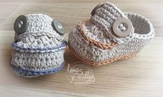 Mocasines crochet patron gratis free pattern moccasins