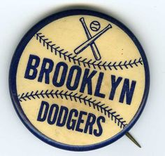 Brooklyn Dodgers Pin