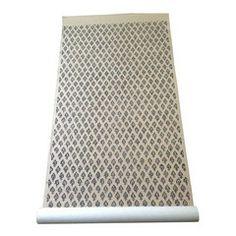 Stroheim Woodhall Printed Sisal Wallpaper - Chairish