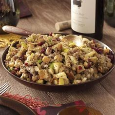 Sausage Stuffing Recipes from Taste of Home  #Thanksgiving