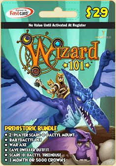 Prepaid Game Card | Wizard101 Free Online Game
