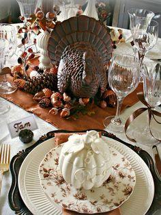 Thanksgiving Table Decor #GiveThanks #ProSource
