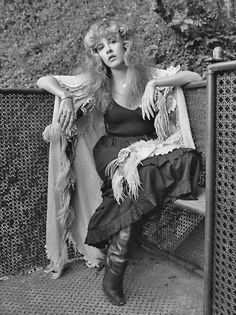 Stevie Nicks - the fairy godmother of rock and roll; her and her voice iconic and timeless.