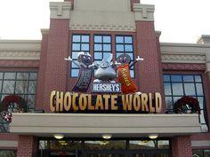 favorit place, chocolates, hershey park, factori, parks, pennsylvania, hersheypark, kids eating, hershey's