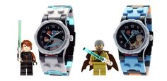 LEGO Kids' 9000454 Star Wars Anakin and Obi Wan 2-Pack Watch  and see more lego watches at  http://pinterest.com/sulias/lego-watches/