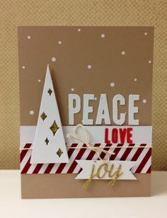 Stampin' Up! demonstrator Melissa S's project showing a fun alternate use for the Watercolor Winter Simply Created Card Kit.