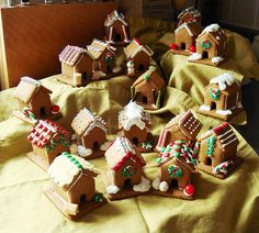 Mini Gingerbread Village   Dessert By Candy