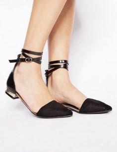 fall fashions, black ankle strap flats, latest fashion trends, heels, beauty, wrap flat, pointi wrap, pixi market, shoe